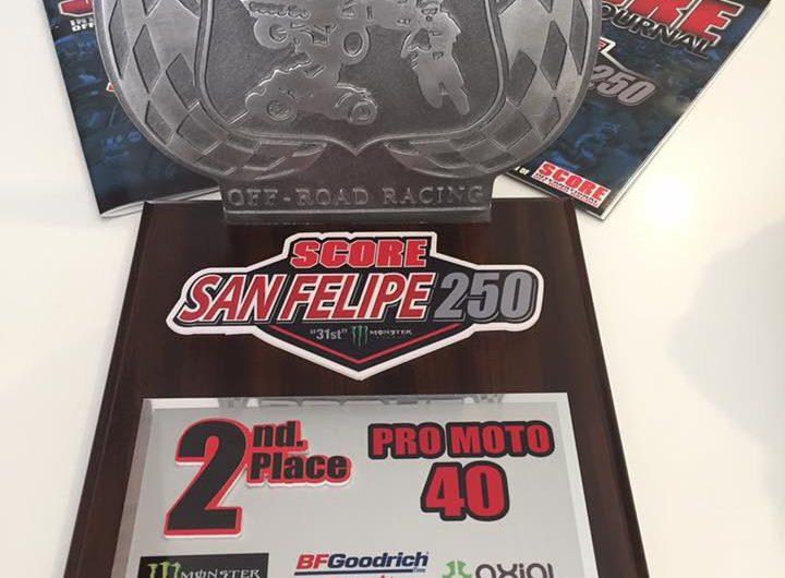 2nd Place Baja 250 – 404x