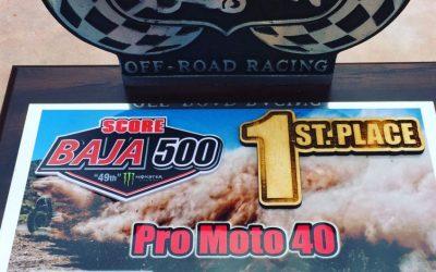 1st Place Baja 500 2017