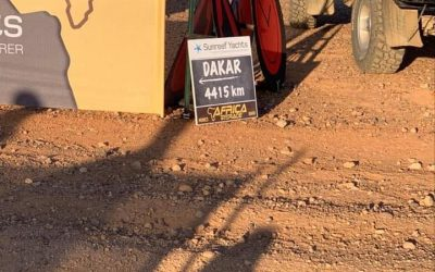 The journey to Dakar.